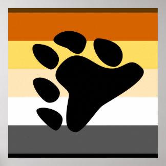 Orgullo del oso poster
