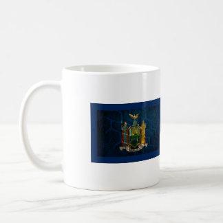 Orgullo del país de abanderamiento de Nueva York Taza Clásica