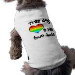 Orgullo del perrito ropa macota