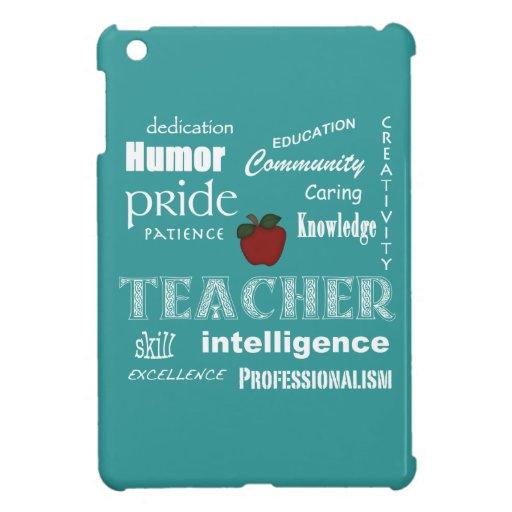 Orgullo del profesor+Azul Apple-Suave rojo