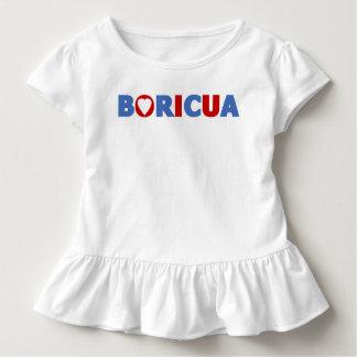 Orgullo del puertorriqueño de Boricua Playera De Bebé