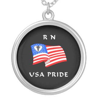 Orgullo del RN los E.E.U.U. Colgante Redondo
