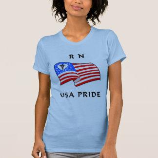 Orgullo del RN los E.E.U.U. de las enfermeras Playera