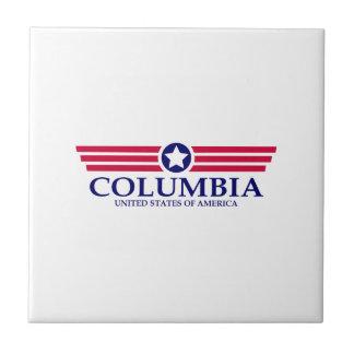 Orgullo del SC de Columbia Azulejo Cuadrado Pequeño