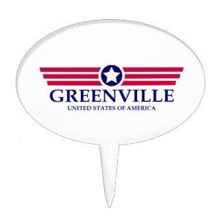 Orgullo del SC de Greenville Figuras De Tarta