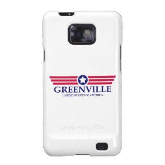 Orgullo del SC de Greenville Samsung Galaxy S2 Carcasas
