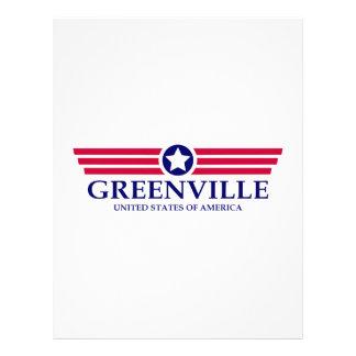 Orgullo del SC de Greenville Membretes Personalizados