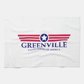Orgullo del SC de Greenville Toallas De Mano