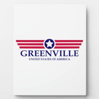 Orgullo del SC de Greenville Placas Con Foto