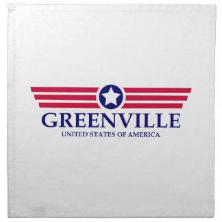 Orgullo del SC de Greenville Servilleta