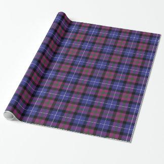 Orgullo del tartán de la moda de Escocia Papel De Regalo