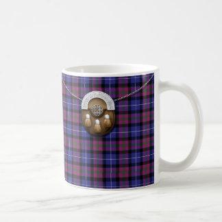 Orgullo del tartán y de la escarcela de los taza de café