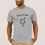 Orgullo del transexual/del Transexual Playera