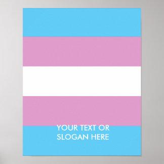 Orgullo del Transexual Poster