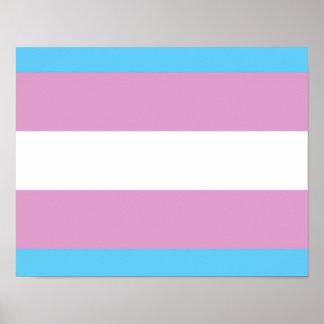 Orgullo del Transexual Posters