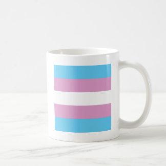 Orgullo del Transexual Taza Básica Blanca