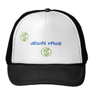 orgullo del vegano gorros