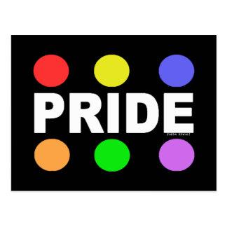 Orgullo - diseño 1 tarjetas postales