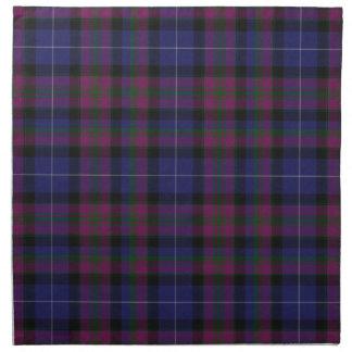 Orgullo elegante de la tela escocesa de tartán de  servilletas imprimidas