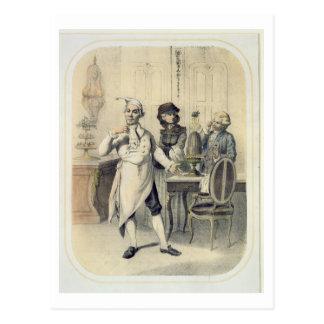 Orgullo en la cocina, de una serie de depi de las tarjeta postal