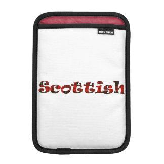 Orgullo escocés fundas iPad mini