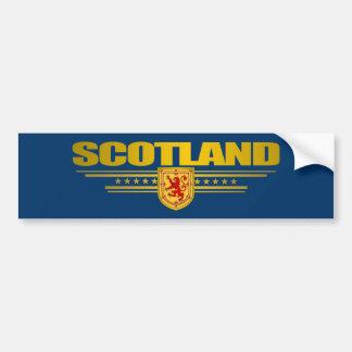 Orgullo escocés pegatina para auto