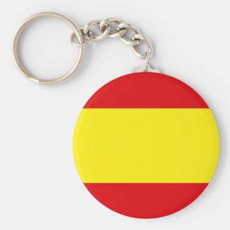Orgullo español llavero redondo tipo pin