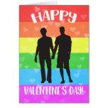 Orgullo feliz del el día de San Valentín LGBT Tarjeta De Felicitación