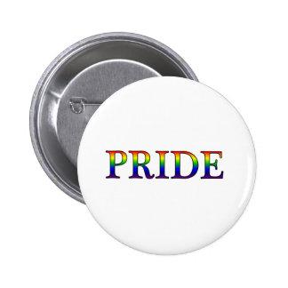 Orgullo -- Fondo del arco iris Pin