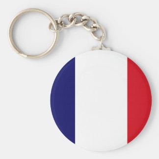 ¡Orgullo francés! Llavero Redondo Tipo Pin