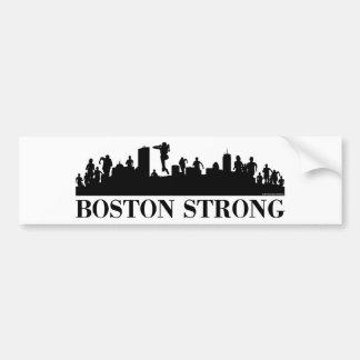 Orgullo fuerte de Boston Pegatina De Parachoque