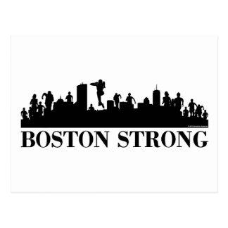 Orgullo fuerte de Boston Tarjetas Postales