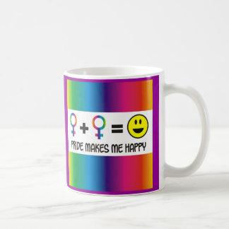 Orgullo (galones) taza de café