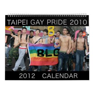 Orgullo gay 2010, de Taipei calendario 2012
