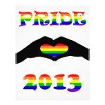 ¡Orgullo gay 2013!! Membrete