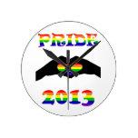 ¡Orgullo gay 2013!! Relojes