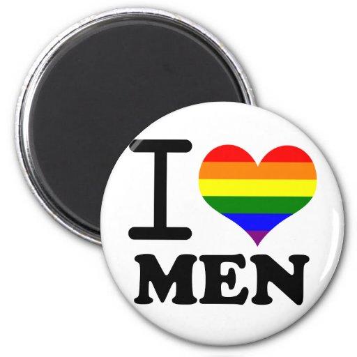 Orgullo gay - amor de I mi compañero Imán Redondo 5 Cm