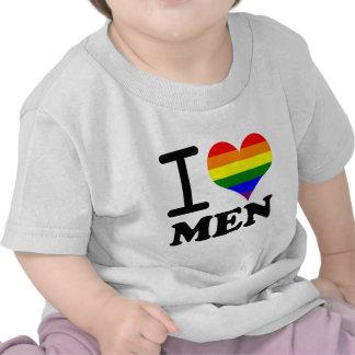 Orgullo gay - amor de I mi compañero Camisetas