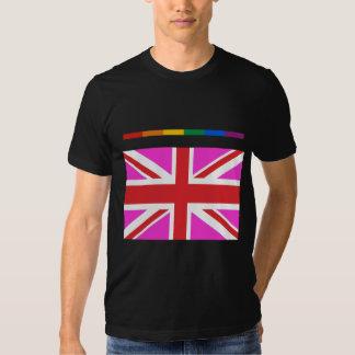 Orgullo gay BRITÁNICO Playeras