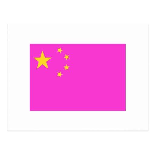 Orgullo gay chino postales