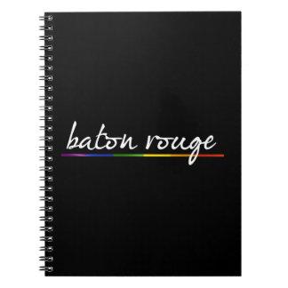 ORGULLO GAY DE BATON ROUGE -- .png Libreta Espiral