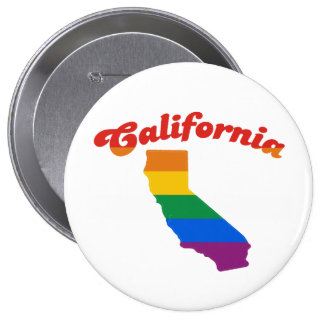 ORGULLO GAY DE CALIFORNIA PINS