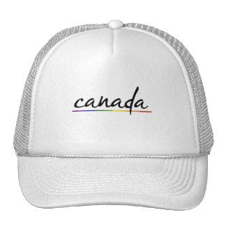 ORGULLO GAY DE CANADÁ - .PNG GORRA
