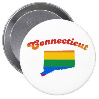 ORGULLO GAY DE CONNECTICUT PIN