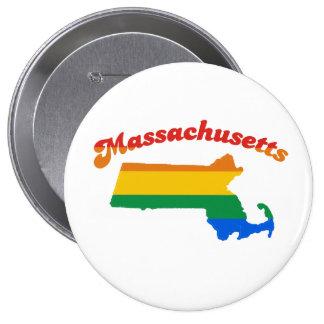 ORGULLO GAY DE MASSACHUSETTS PIN