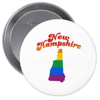 ORGULLO GAY DE NEW HAMPSHIRE PINS