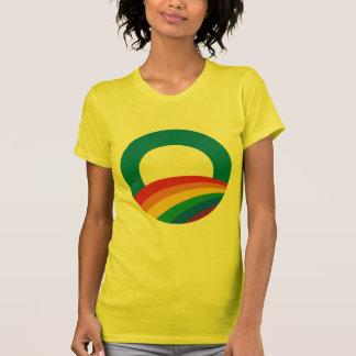 Orgullo gay de Obama Camisetas