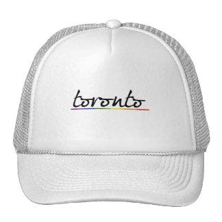 ORGULLO GAY DE TORONTO - .PNG GORROS