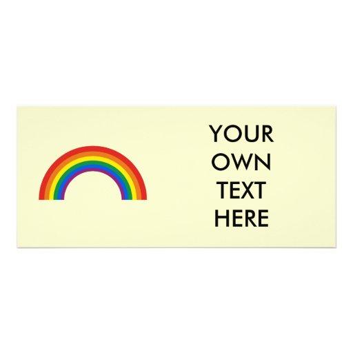 Orgullo gay del arco iris del humor verdad lonas