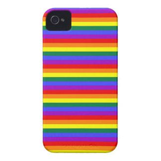 Orgullo gay del arco iris iPhone 4 Case-Mate funda